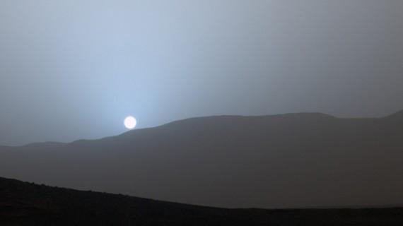 Apus de Soare pe Marte