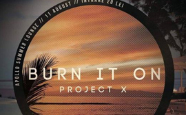 Burn it on @ Apollo Summer lounge – marţi, 11 august