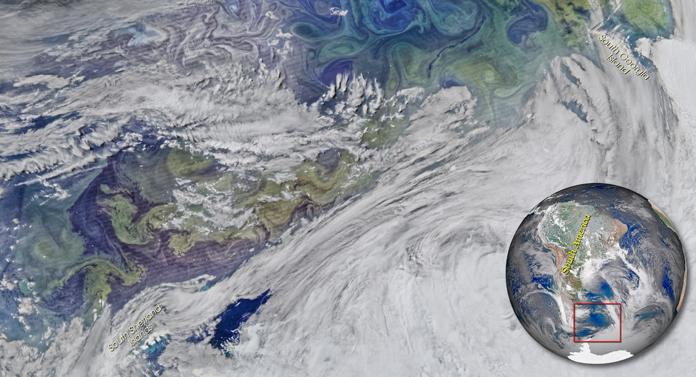 Primăvara în sudul Atlanticului
