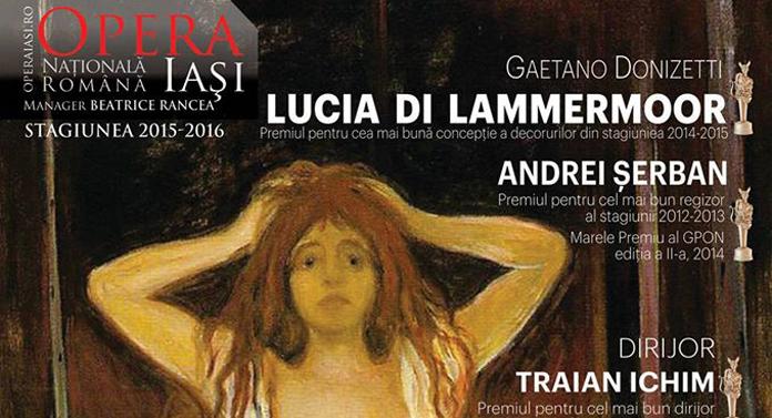 Lucia di Lammermoor la Opera din Iaşi