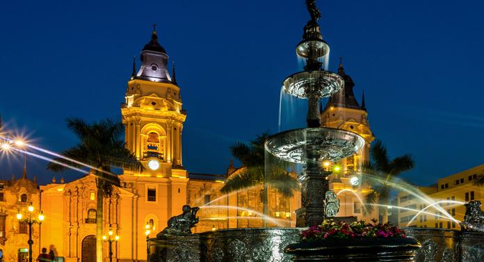 Întemeierea oraşului Lima