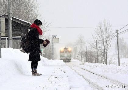 Trenul Iași – Constanța, anulat din cauza ninsorii