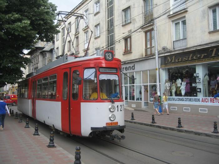 CTP Iași vera o aplicație care să-ți spună când ajunge tramvaiul în stație