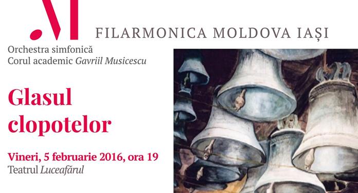 """Programul pe luna februarie al Filarmonicii """"Moldova"""" Iaşi"""