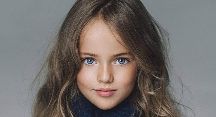 """Kristina Pimenova este """"cea mai frumoasă fetiţă din lume"""""""