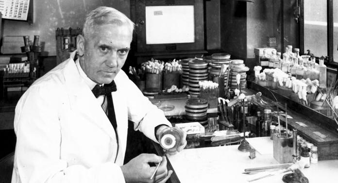 Alexander Fleming şi descoperirea penicilinei