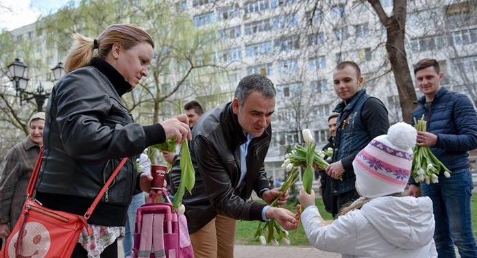 Marius Bodea a câştigat şi bătălia florilor