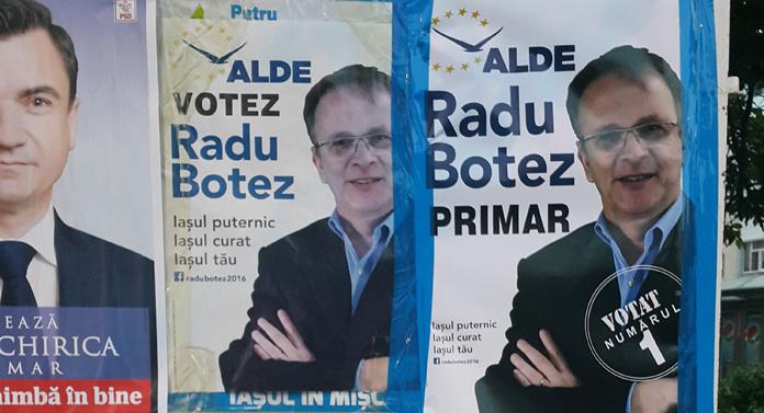 Daţi un leu pentru Radu Botez