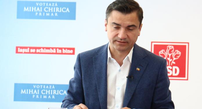 Mihai Chirica a câştigat la scor alegerile din Iaşi. Rezultate provizorii oficiale
