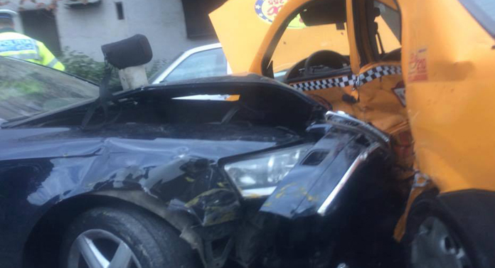 Accident groaznic pe Arcu GALERIE FOTO