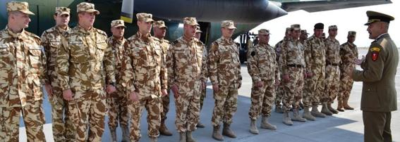 O nouă misiune în Afghanistan pentru militarii ieşeni