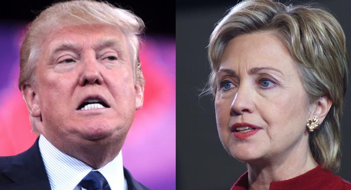 Se îngroaşă gluma între Trump şi Clinton