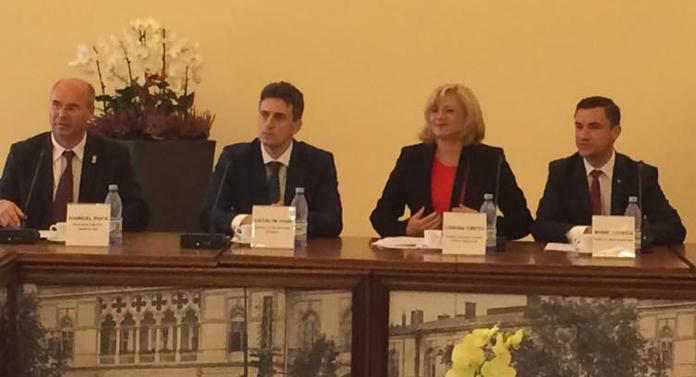 Ce a rămas în urma vizitei Corinei Crețu la Iași
