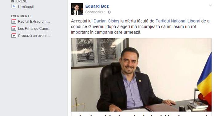 Să ne ferească Dumnezeu de liberalul Eduard P Boz!
