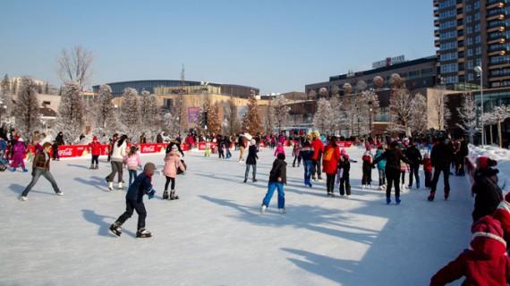 S-a deschis și al doilea patinoar de la Palas