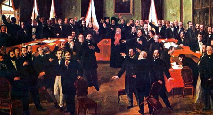 24 ianuarie 1859 – Unirea Principatelor Române (Moldova şi Ţara Românească)