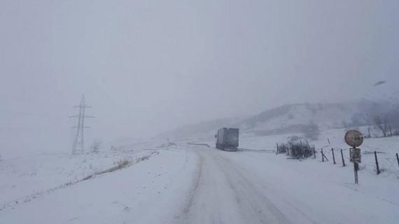 7 drumuri naționale sunt închise circulației