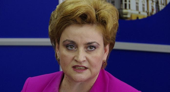 Graţiela Leocadia Gavrilescu, ministrul pentru Relaţia cu Parlamentul