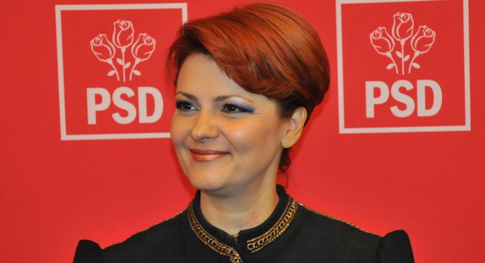 Lia Olguţa Vasilescu, ministrul Muncii şi Justiţiei Sociale