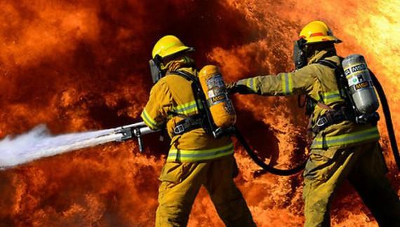 Incendiu izbucnit într-un bloc din Bucecea
