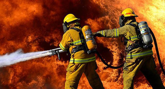 Incendiu la un hotel din Vatra Dornei