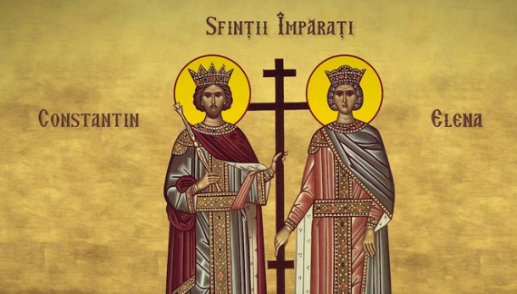 Legenda Sfinţilor Împăraţi Constantin şi Elena