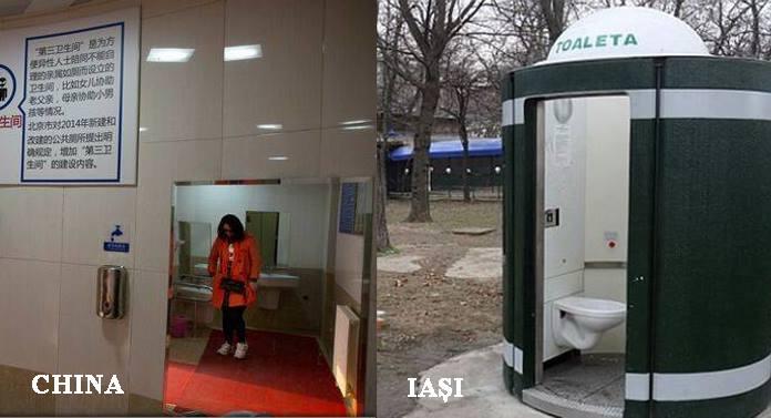 """China şi Chirica au lansat """"revoluţia toaletelor publice"""""""