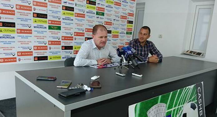 FC Botoşani are un nou antrenor