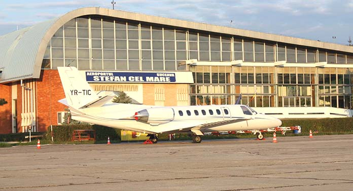 Show aviatic la Suceava