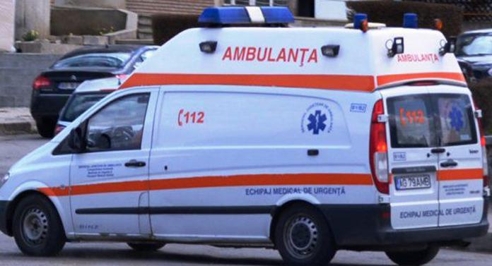 Copil de patru ani, implicat într-un accident rutier la Gorban