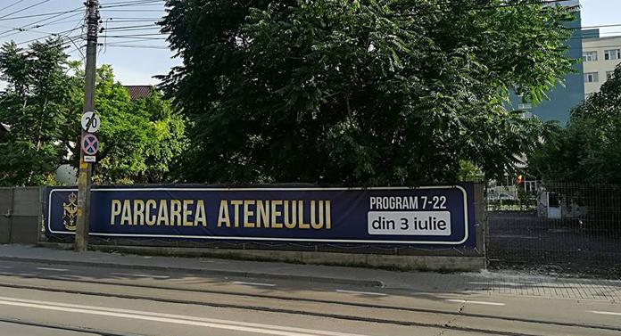 Pe când o spălătorie auto și un coafor la Ateneul din Iași?
