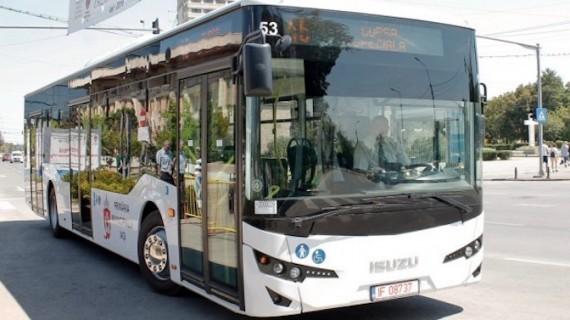 Autobuze care numără călătorii, la Iași