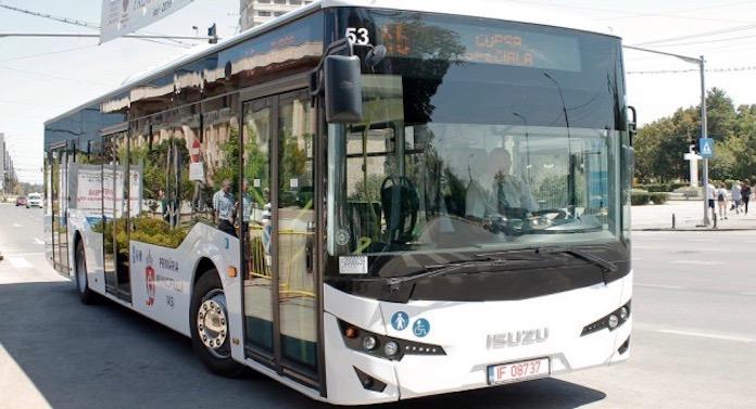 Benzi destinate exclusiv transportului public, în Iași