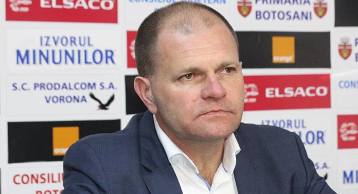 """Cornel Şfaiţer: """"Craiova nu a câştigat niciodată la Botoşani şi vreau să păstrăm tradiţia"""""""