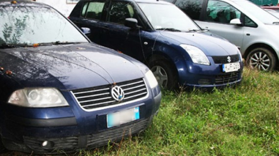 Mașini vândute la licitație de Finanțe
