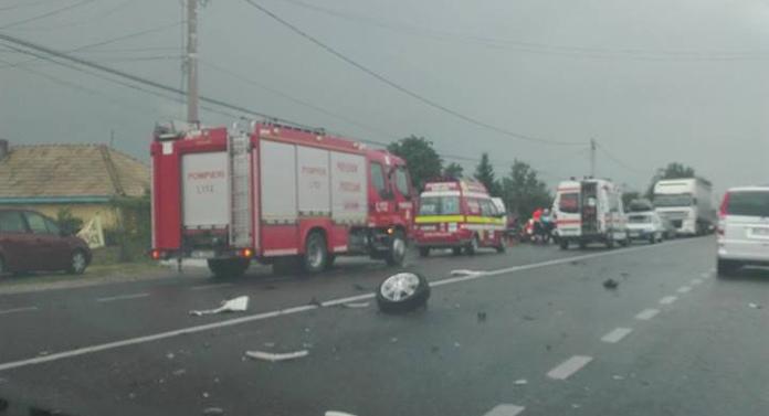 Atenție șoferi pe DN2. Trafic îngreunat din cauza unui accident cu victime