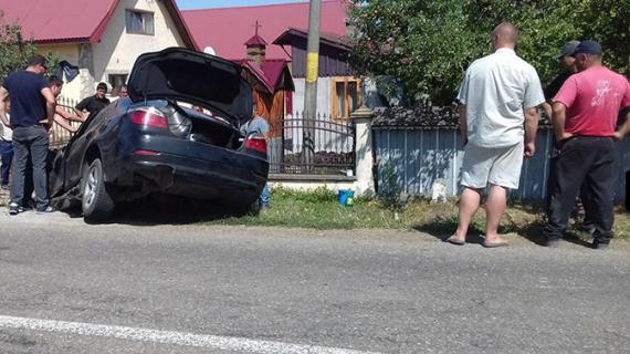 Accident groaznic în Suceava