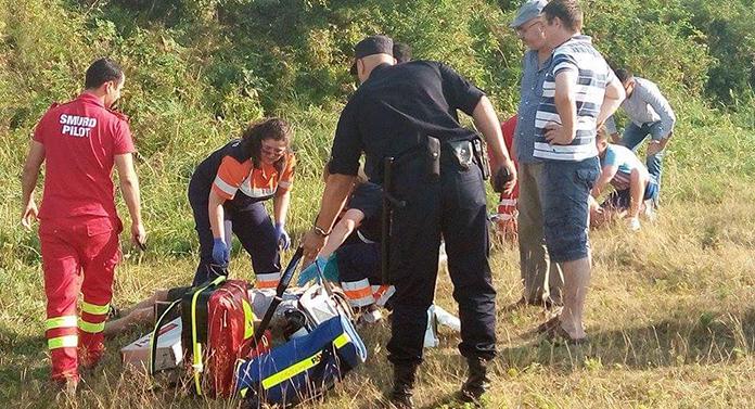 Un avion s-a prăbușit lângă Pașcani. Pilotul a decedat