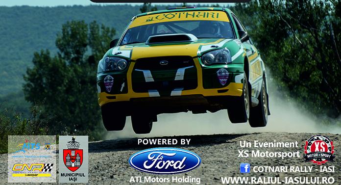 Tempestini a câștigat Cotnari Rally Iași