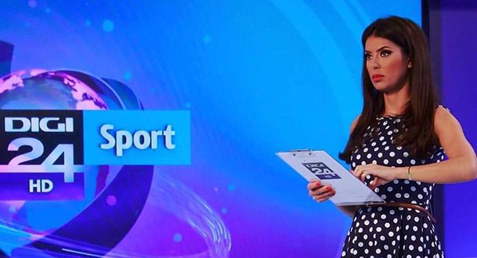 Cea mai frumoasă prezentatoare de sport a plecat din televiziune