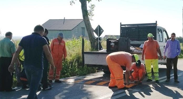Limitatoare de viteză în intersecția morții din Botoșani