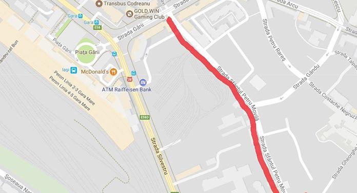 Circulație închisă astăzi pe 2 străzi importante