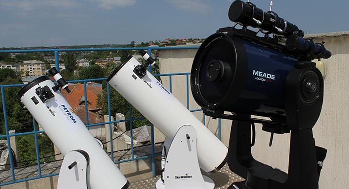 Bârlad: Începe Școala de vară de Astronomie
