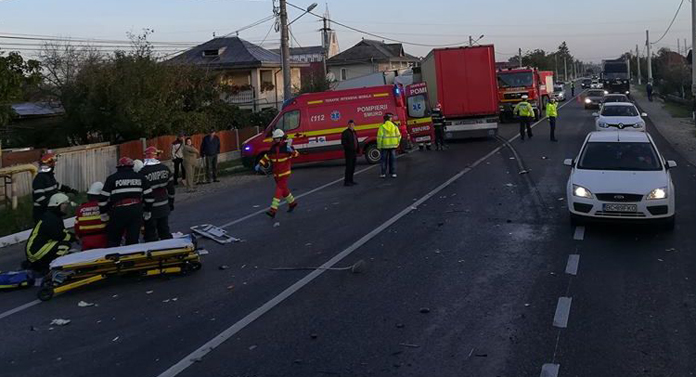 Cel mai periculos drum din România trece prin Bacău