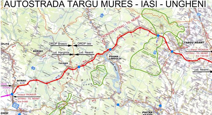 Trei coridoare de transport vor lega Moldova de Transilvania