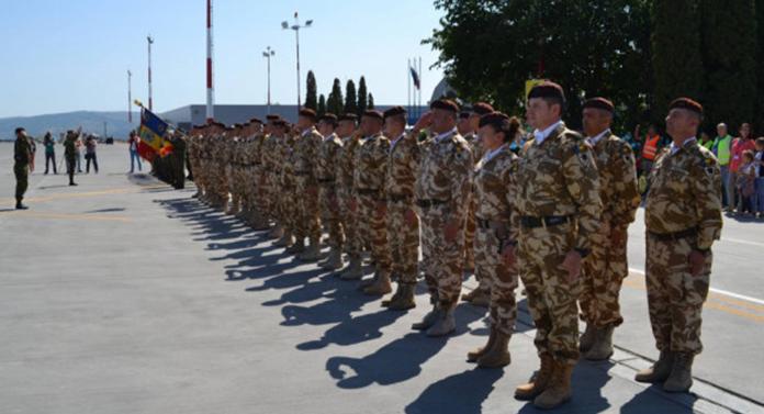 Ceremonie militară impresionantă astăzi