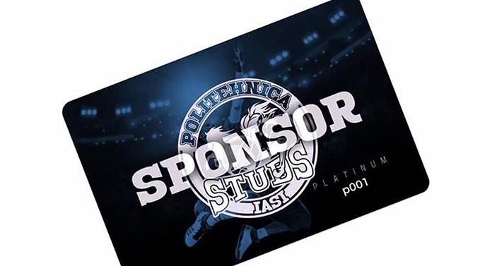 Carduri sponsor pentru echipa ieșeană de baschet