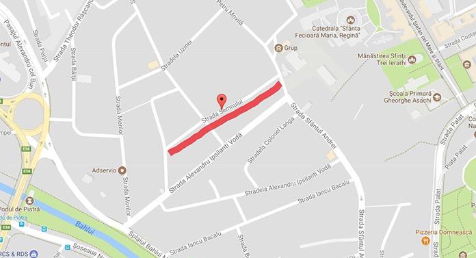 După Smârdan, o nouă stradă va fi închisă circulației începând de astăzi