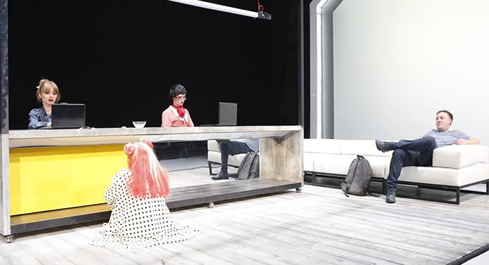 """Spectacolul """"Măcelăria lui Iov"""", pregătit pentru Festivalul Național de Teatru"""