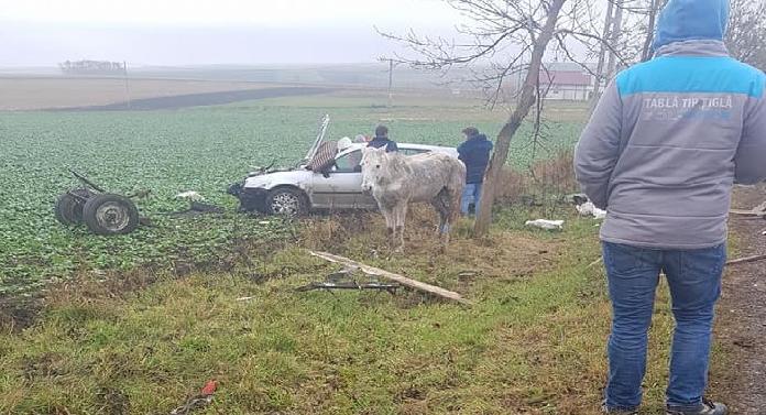 Accident cumplit în această dimineaţă între Botoşani şi Dorohoi